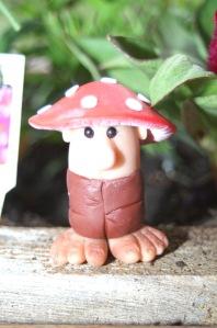 A mushroom troll
