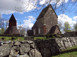 Church at Gamla Uppsala